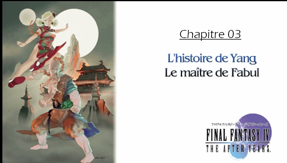 Soluce de Final Fantasy IV After Years Ch03