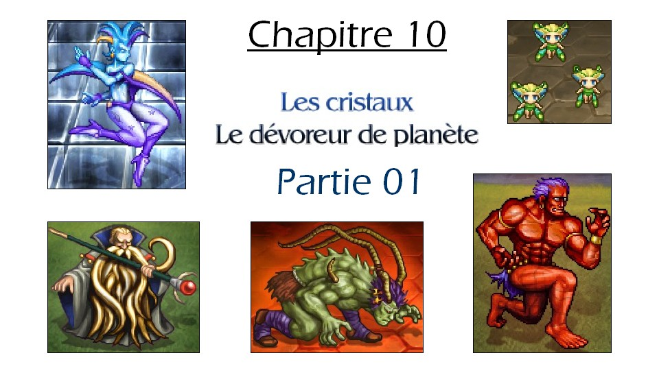 Soluce de Final Fantasy IV After Years Ch10