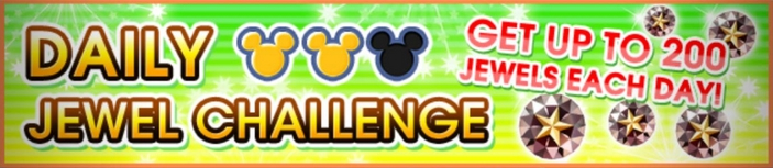 Daily Jewel Challenge