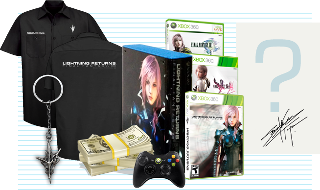 [News] Lightning Returns: Final fantasy XIII - Page 5 Prizes